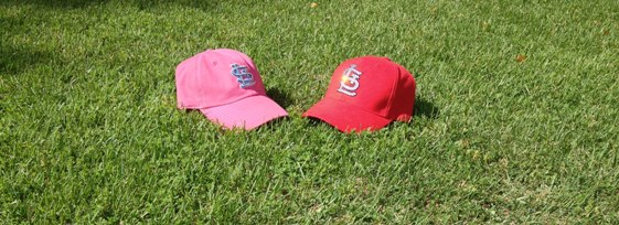 Embellished Cardinals Hats